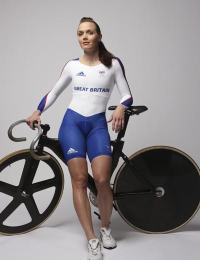 Victoria Pendleton GB Olympic kit