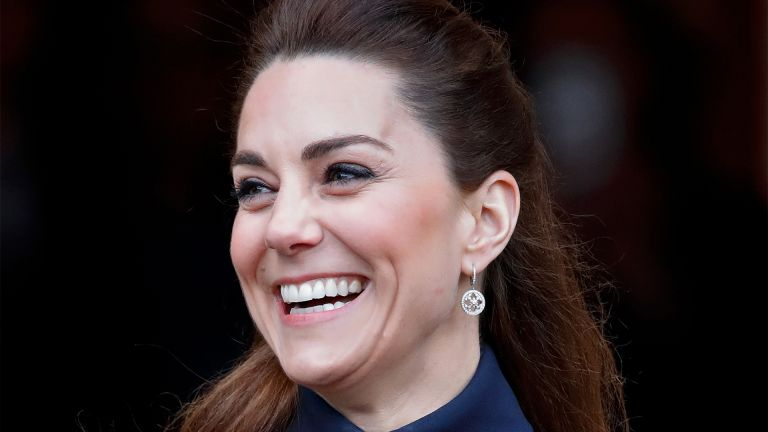 LOUGHBOROUGH, UNITED KINGDOM - FEBRUARY 11: (EMBARGOED FOR PUBLICATION IN UK NEWSPAPERS UNTIL 24 HOURS AFTER CREATE DATE AND TIME) Catherine, Duchess of Cambridge visits the Defence Medical Rehabilitation Centre Stanford Hall on February 11, 2020 in Loughborough, United Kingdom. The new Defence Medical Rehabilitation Centre, known as 'DMRC Stanford Hall', is operated by the Ministry of Defence (MOD) and began admitting patients in October 2018. (Photo by Max Mumby/Indigo/Getty Images)