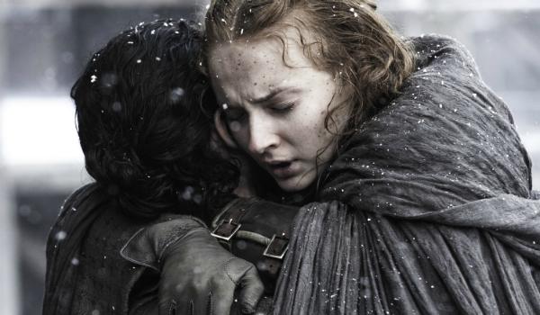 Game of Thrones Jon Snow Kit Harington Sansa Stark Sophie Turner HBO