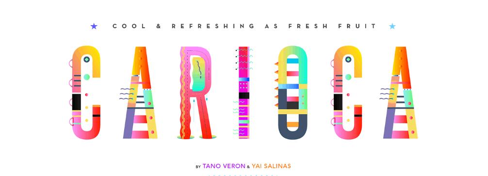 Best free fonts: Carioca