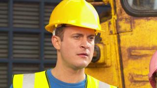 Luke Morgan in Hollyoaks stunt week