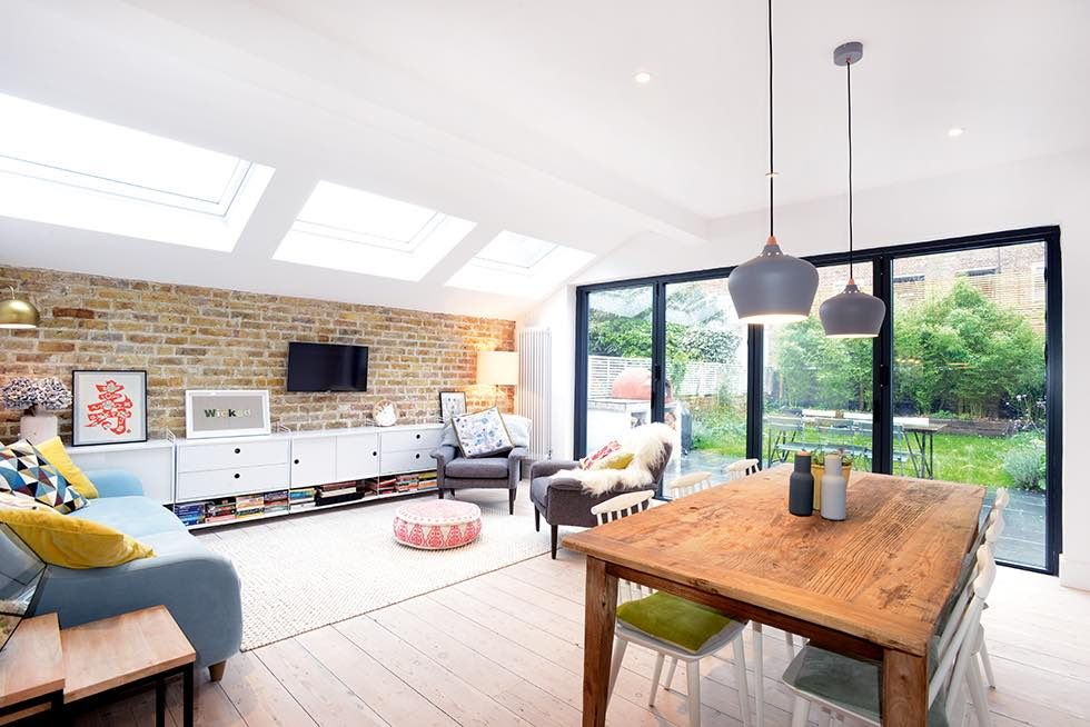 Scandinavian-style London Flat Extension
