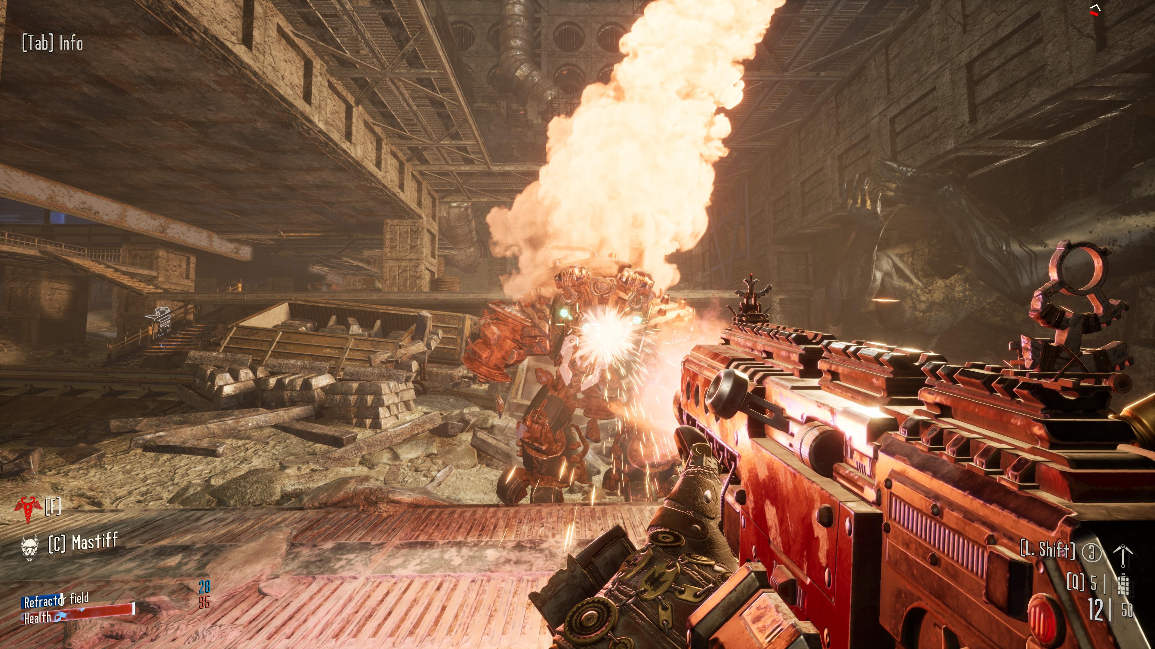 Hired Gun's take on the iconic 40K boltgun