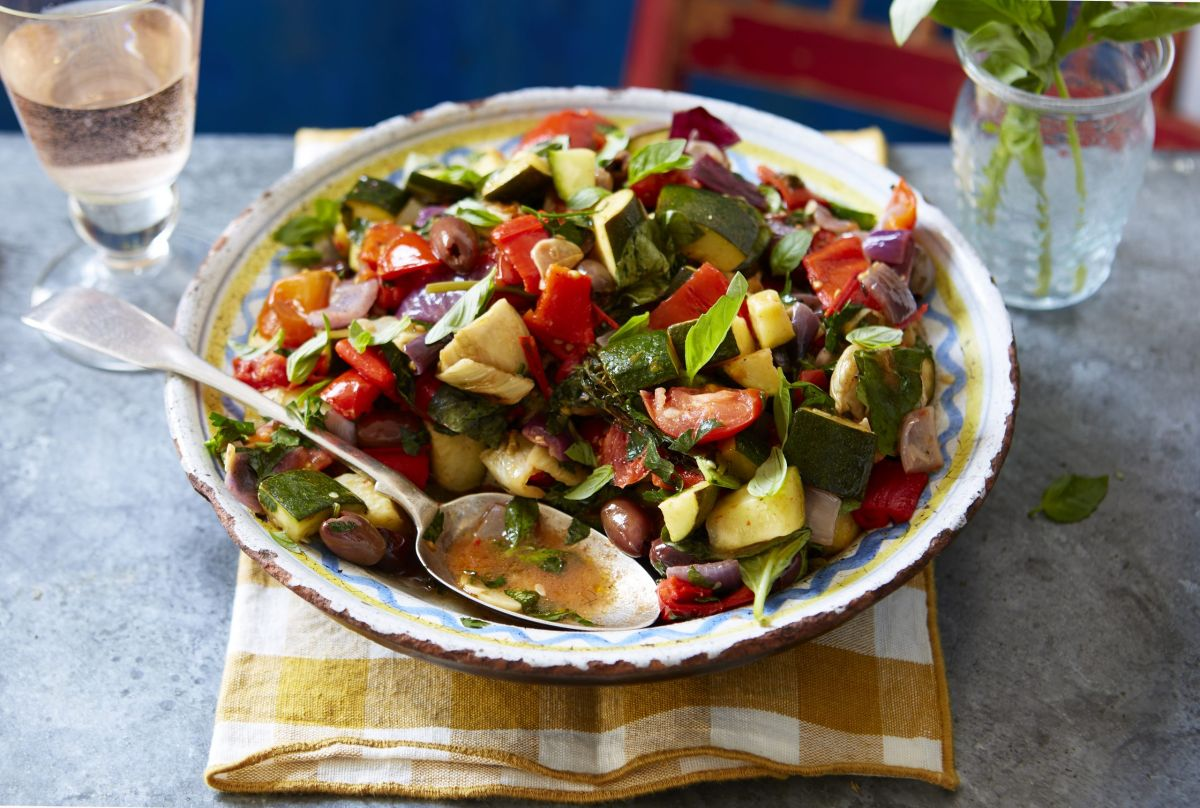 Try this vegetable ratatouille packed with fresh tomatoes and fragrant herbs