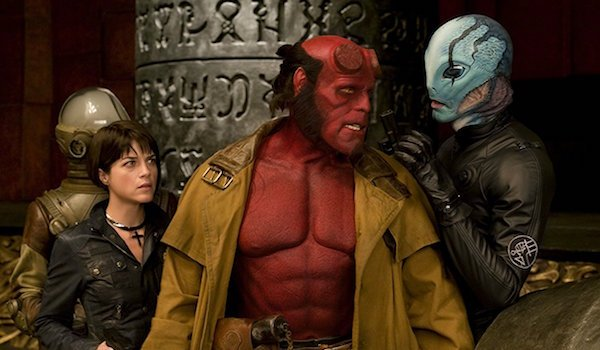 Hellboy, Liz and Abe Sapien in Hellboy II: The Golden Army