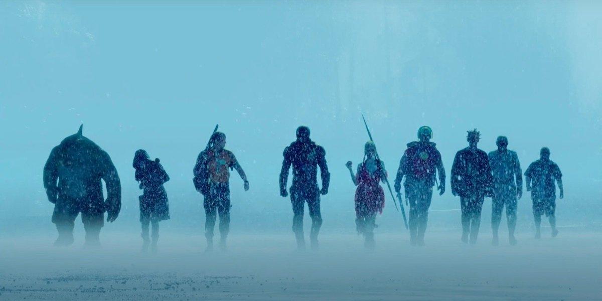 The Suicide Squad lineup of villains