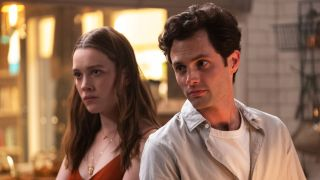 You season 3 with Penn Badgley and Victoria Pedretti