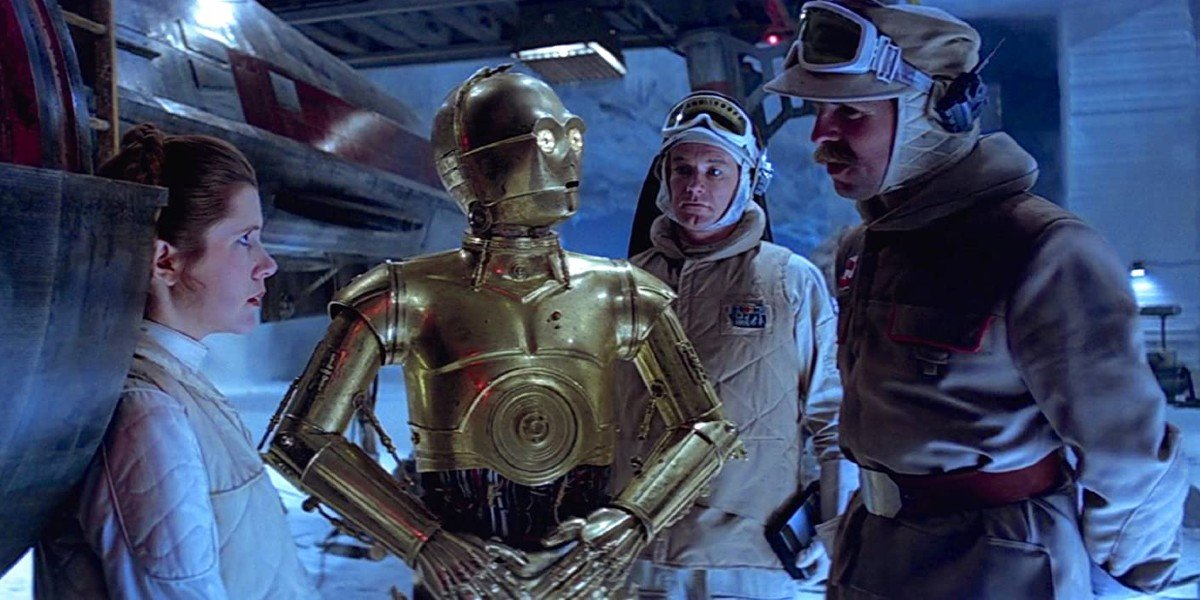 Anthony Daniels in Star Wars: The Empire Strikes Back