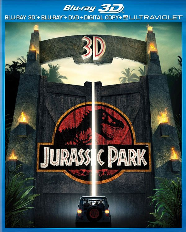 Jurassic Park 3D Box Art