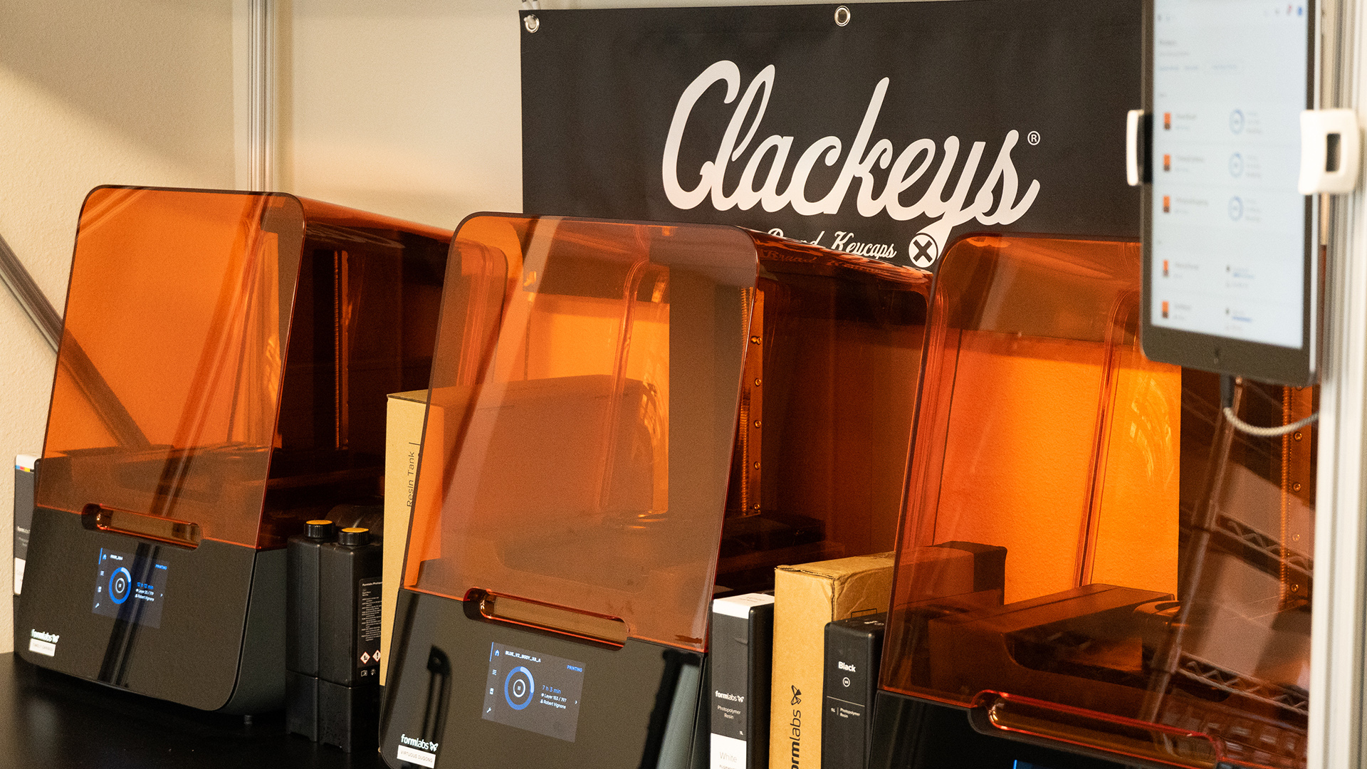 Image from the Clackeys Studio in California