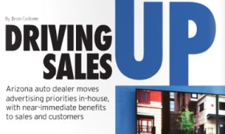 DRIVING SALES UP