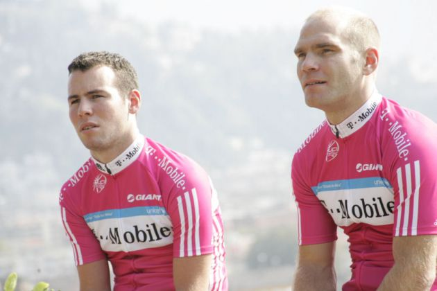 Roger Hammond Mark Cavendish T-Mobile