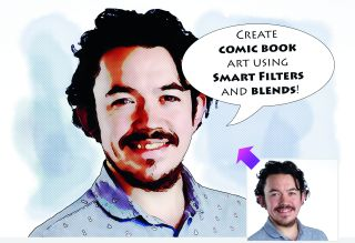 How to create a comic book portrait in Photoshop