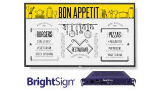 NEC and BrightSign integration