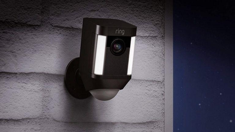 best security camera: Ring spotlight