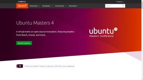 Ubuntu website