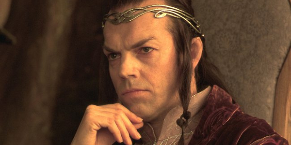 Lord Of The Rings Elrond Thinking
