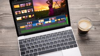Best macbook for video editing: Video editor app on MacBook