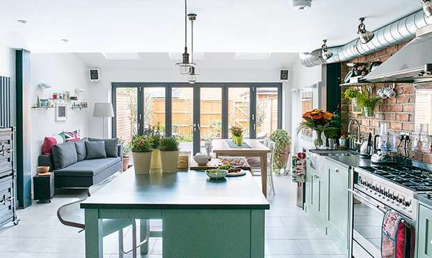 Real home: New York loft-style kitchen extension | Real Homes