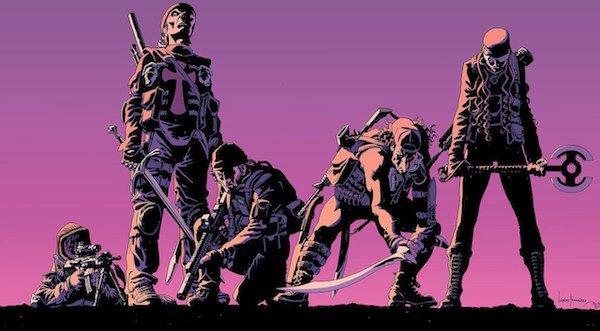 The Old Guard Comic Book