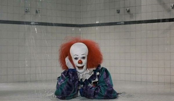 pennywise shower it