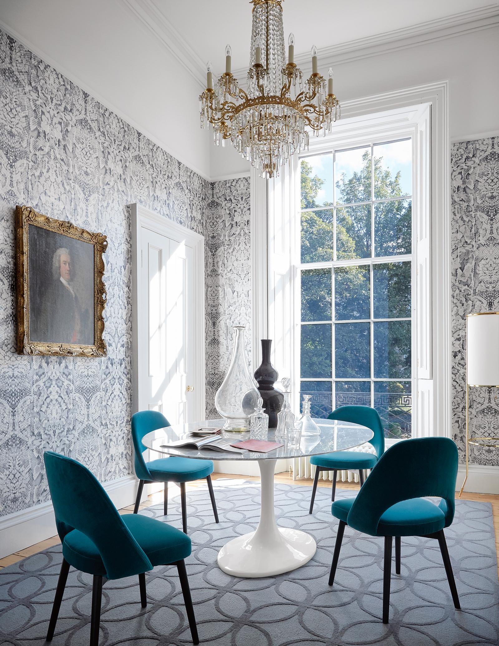 Striking And Modern Dining Room Wallpaper Ideas Livingetc