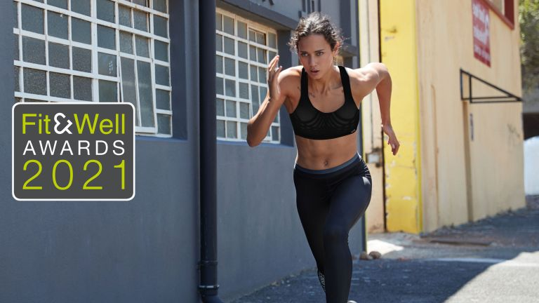 Woman wearing Shock Absorber Ultimate Run Bra, one of the Hot Fit Kit winners at the Fit&Well Awards 2021