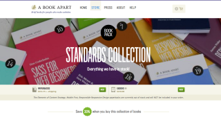 ecommerce website designs: A Book Apart