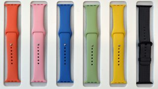 apple watch bands assorted colours