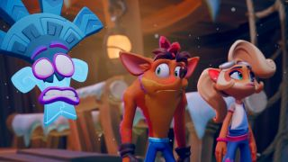 Crash Bandicoot gives some side-eye