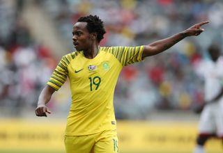 Bafana Bafana attacker Percy Tau