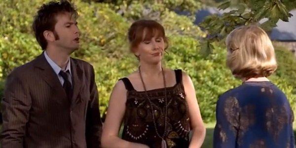 The Doctor Donna Agatha Christie David Tennant Catherine Tate Fenella Woolgar Doctor Who BBC America