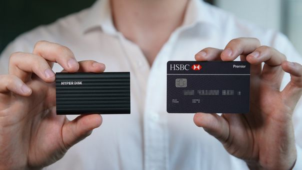 HyperDisk: 45g hard drive, smaller than a credit card – Kickstarter ends tomorrow!