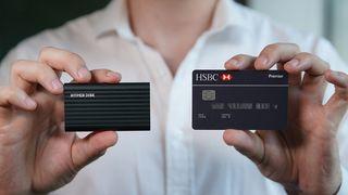 HyperDisk:45g hard drive, smaller than a credit card –Kickstarter ends tomorrow!