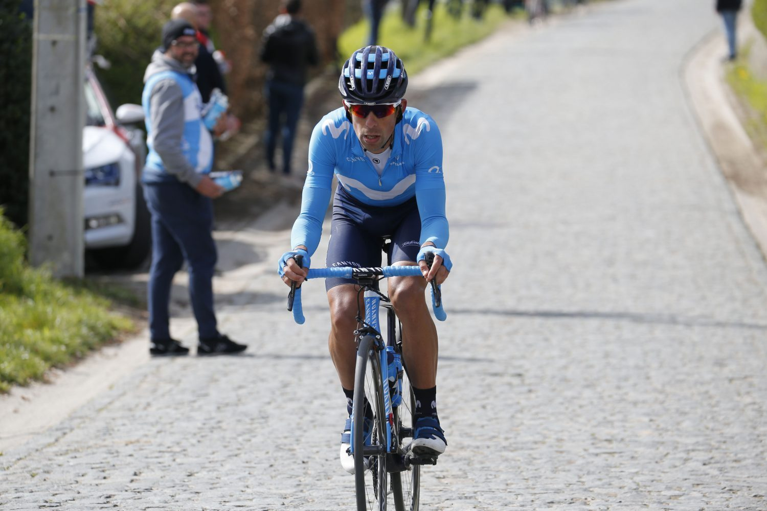 Confusion as Movistar rider denies being disqualified from Tour of Flanders