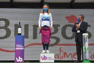 Annemiek van Vleuten (Movistar) takes the lead of the Women's WorldTour