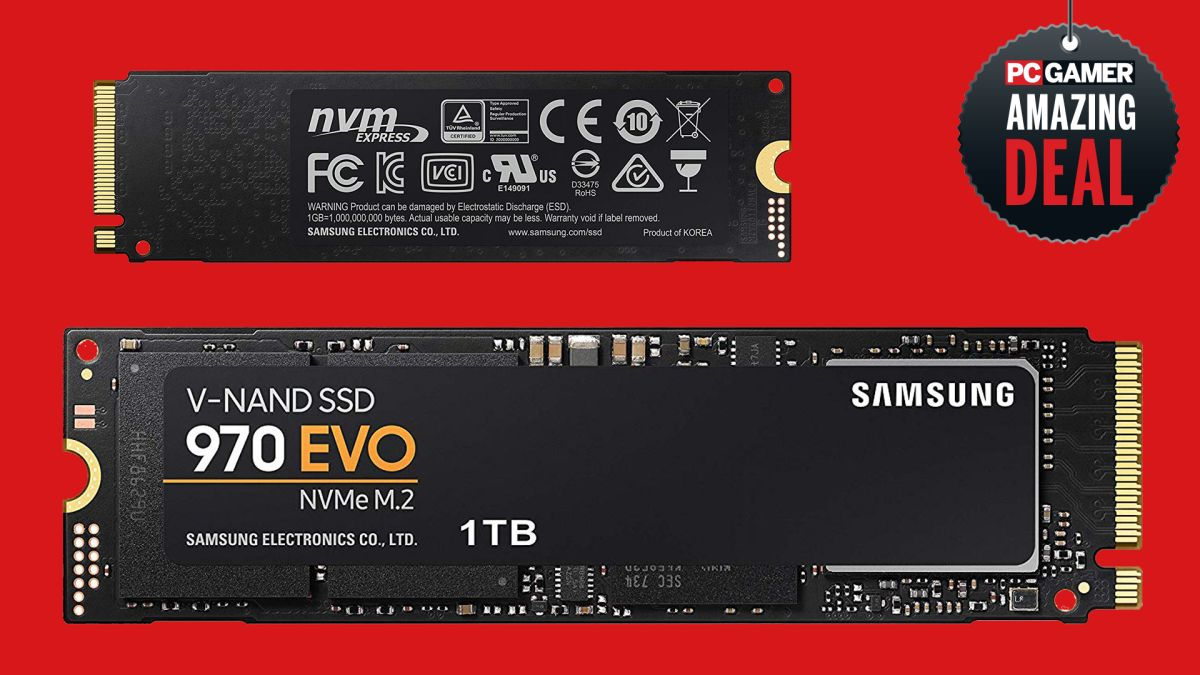 1TB Samsung EVO 970 SSD deal: get it for less than $150, the cheapest price ever