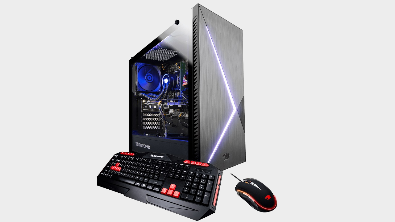 iBuyPower RDY SLIIBG213 gaming PC review | GamesRadar+