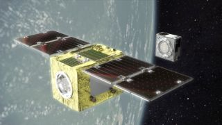 ELSA-d released and successfully captured its experimental piece of space junk for the first time.