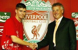 Steven Gerrard Press Conference
