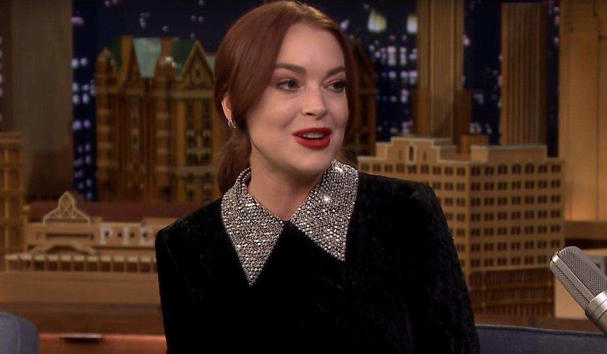 Lindsay Lohan The Tonight Show