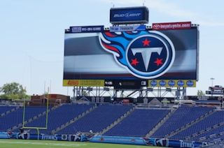 Spyders Meet Titans at Nashville's LP Field