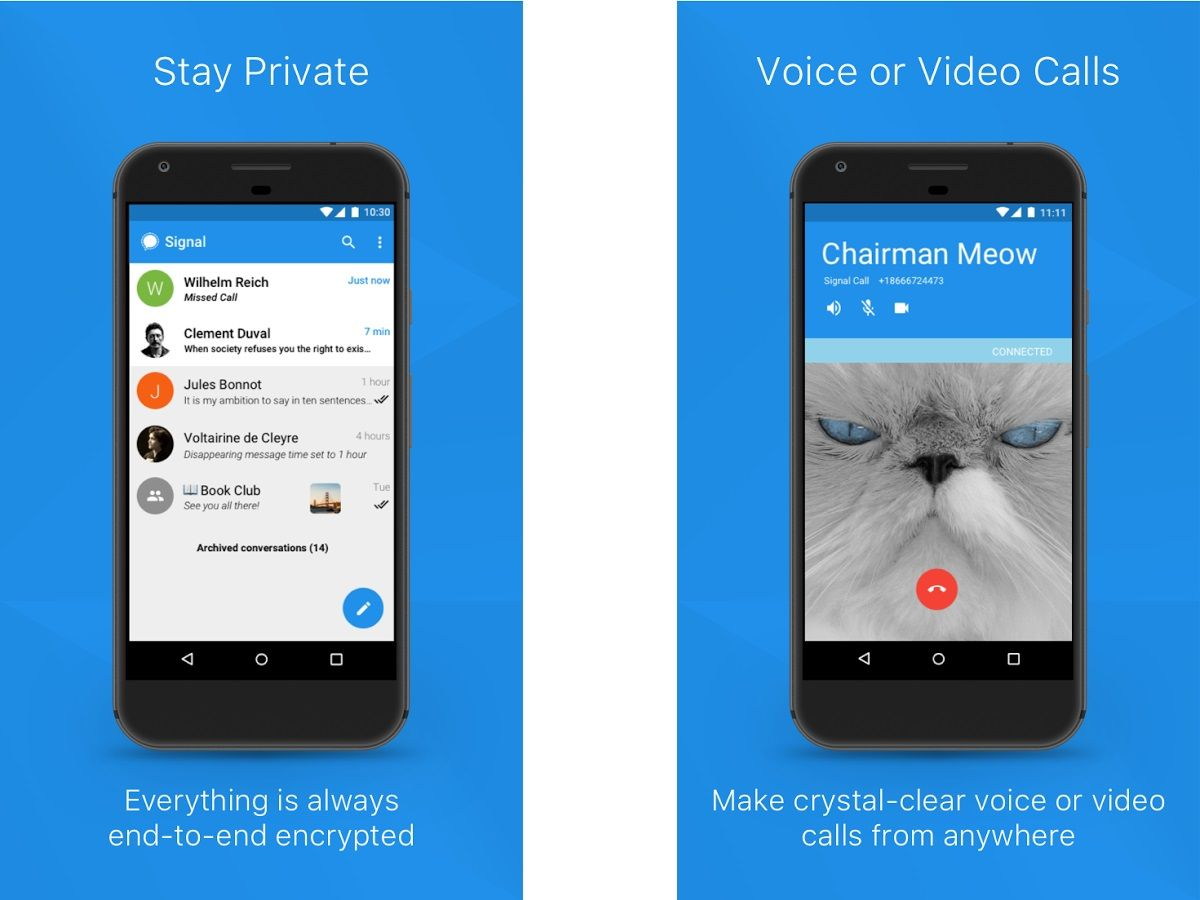 Best Encrypted Messaging Apps 2019 - Secure Android, iOS