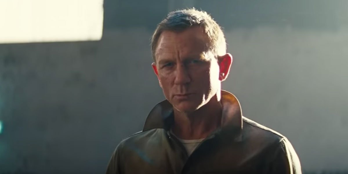 Daniel Craig in his final outing as James Bond in No Time To Die