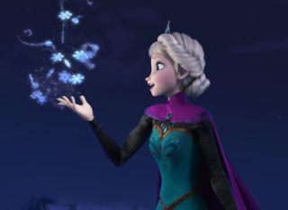 Frozen Elsa voiced by Idina Menzel