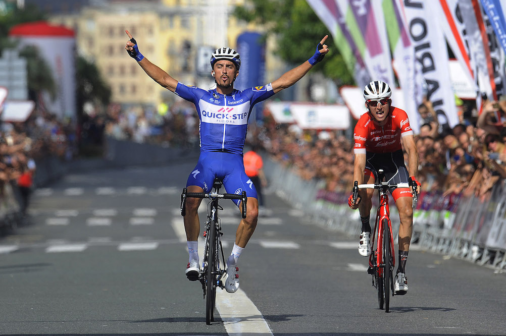 Julian Alaphilippe Continues Exceptional Season With Victory At Clasica San Sebastian 2018 Cycling Weekly