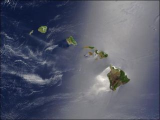 Volcanic islands of Hawaii
