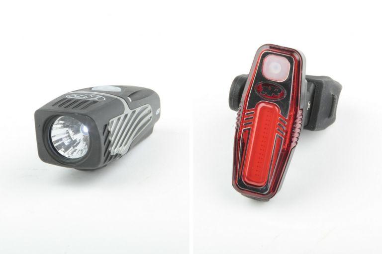 NiteRider Lumina Micro 450/Sabre 50 lights