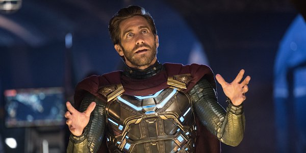 Jake Gyllenhaal as Mysterio in Spider-Man: Far From Home