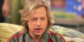 Fans Keep Sending David Spade This Weird Kurt Cobain Mural
